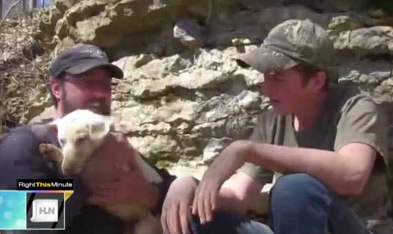 TN Family Rescues Pet Stuck in Rock Wall
