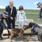 Police Dogs Help Dog Bite Victim Get Over Dog Phobia