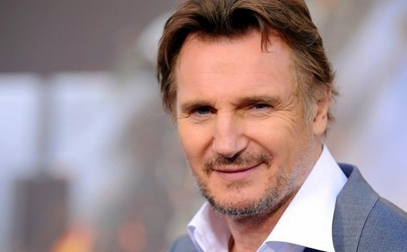 3.19.14 - Liam Neeson Saves Abused Dog2