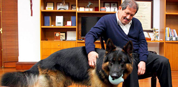 Colombian VP Declines Ambassadorship for His Dog's Sake