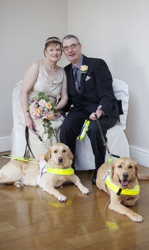 Couple Brought Together by Guide Dogs Marries