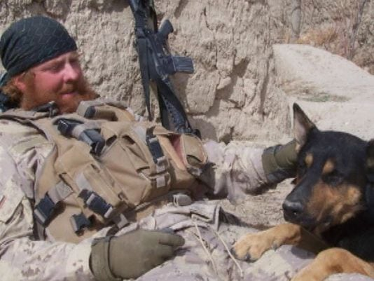 Soldier Reunited with K9 Partner that Saved His Life