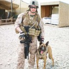 Marine and Military Dog Reunited After Five Months Apart