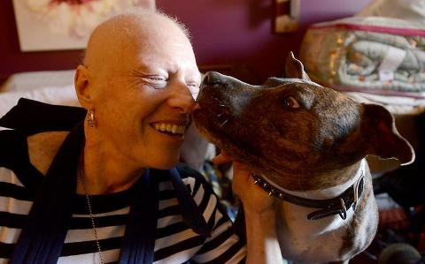 Dying Woman Searches for Home for Her Dog