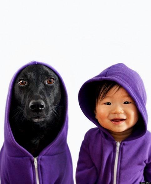 4.16.14 - Dog & Baby Twins1