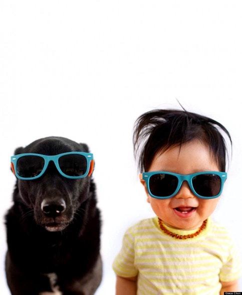 4.16.14 - Dog & Baby Twins2