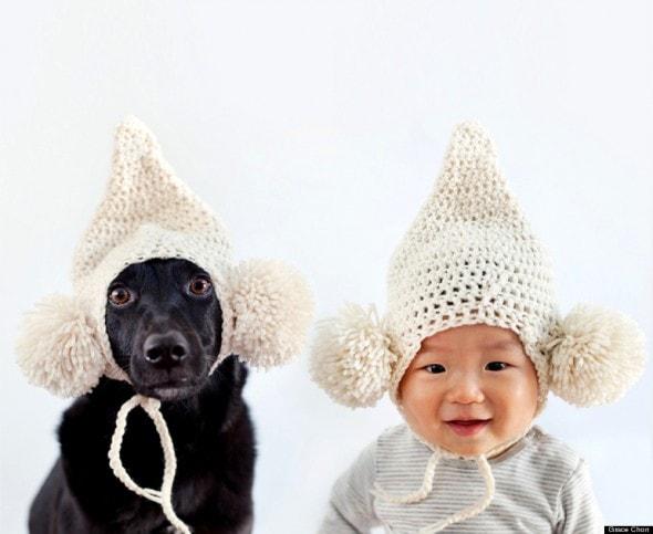 4.16.14 - Dog & Baby Twins7