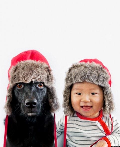 4.16.14 - Dog & Baby Twins8