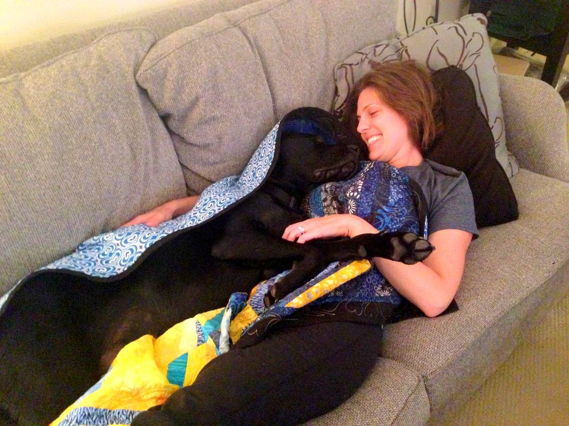 Marathon Bombing Victims Get Through Year with Help from Service Dogs
