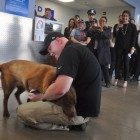 Two Vets Reunite at O'Hare Airport After Years Apart