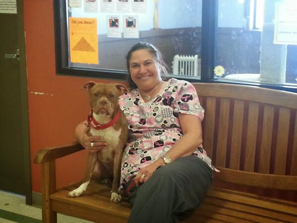Deaf Dog Finds Forever Home with Deaf Woman