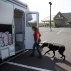 Bloodmobile for Dogs at University of Pennsylvania Vet School
