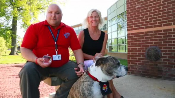 5.20.14 - Pit Bull Wins Top Volunteer Award