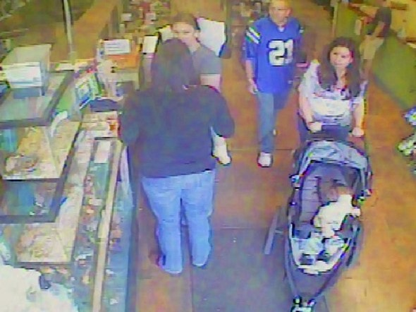 5.22.14 - Puppy Allegedly Stolen by Couple with Stroller Returned to Pet Store