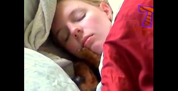 Cute Dogs Waking Up Their Owners   (VIDEO)