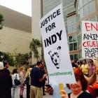 "Hundreds Demand ""Justice for Indy"" Outside Courtroom"