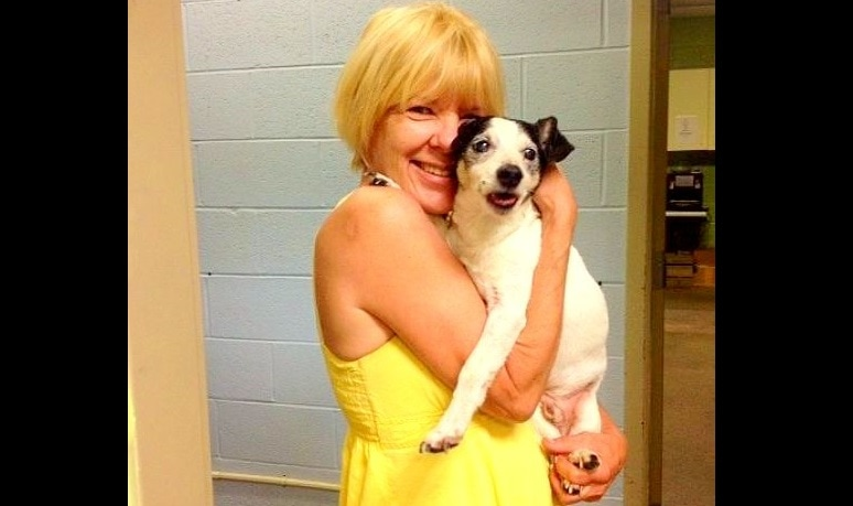 AC Officer Rescues Blind, Deaf, Senior Dog from Sandbar