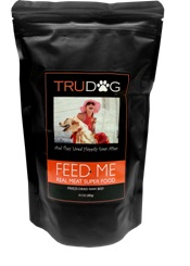 Introducing TruDog's 100% All-Natural Feed Me Dog Food