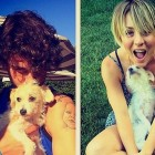 Actress Kaley Cuoco Adopts a Rescue Dog