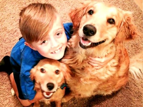 6.27.14 - Kid Saves High-Kill Shelter Dogs for Birthday1