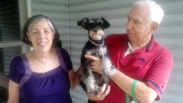 6.29.14- Happy Reunion for Dog Stolen During Burglary