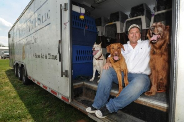 6.3.14 - Man Drives Over 1 Million Miles to Save Over 2,000 Dogs
