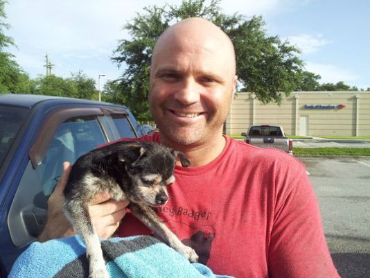 6.30.14 - Dog Rescued from Sewer in Florida