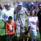 Family of Deceased Marine Adopts Dog He Served With Overseas