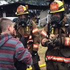 Dog Trapped in Fire Saves Family from Blaze