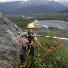 Heroic Rescue of Dog Stuck on Cliff in Alaskan Park