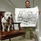Former Homeless Man Turns Life Around Selling Sketches of his Dog