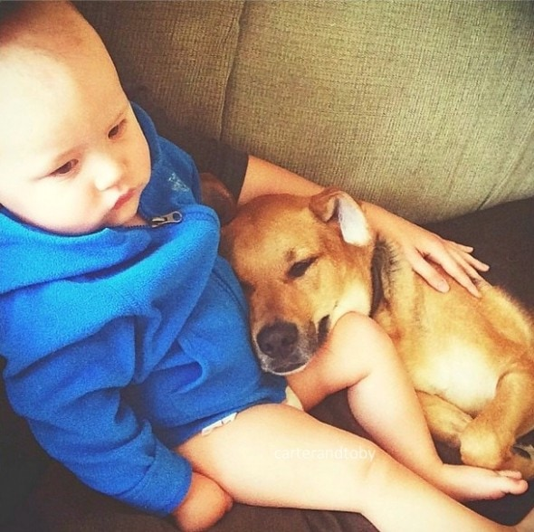 7.9.14 - Just a Boy and His Dog....13
