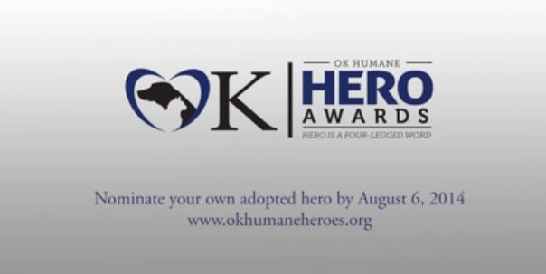 Central Oklahoma Humane Society Seeks Heroic Adopted Pets
