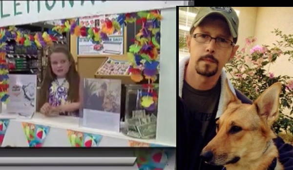 Young Girl's Lemonade Stand Helps War Veteran's Dog