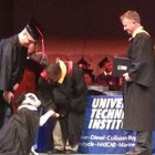 Service Dog Helps War Veteran Graduate from College