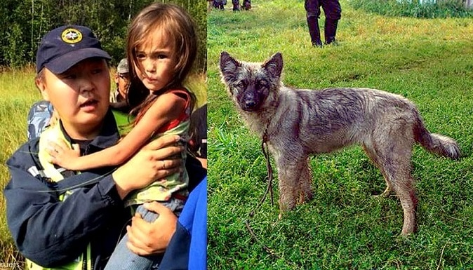 Puppy Saves 4-Year-Old Lost in Siberian Wilderness for 11 Days