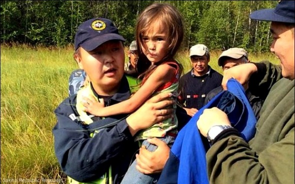 8.15.14 - Puppy Saves Toddler Lost in Siberian Wilderness for 11 Days7