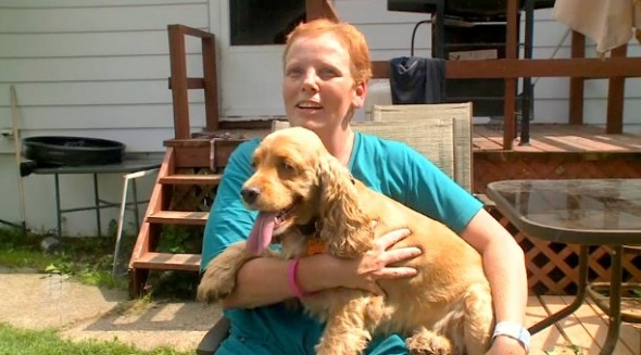 8.20.14 - Heroic Dog Saves Mom from Deadly House Fire2