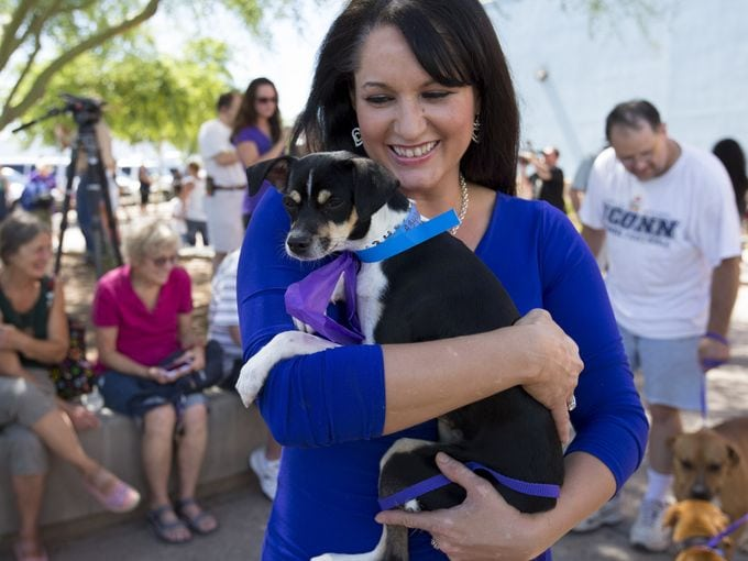 Arizona Tragedy Victims Aid in Adoption of Sixty-one Dogs