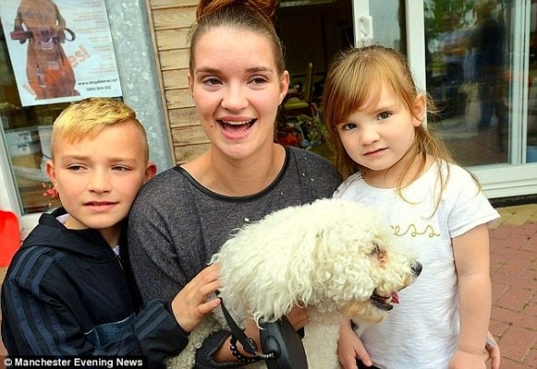 9.14.14 - Woman Reunited with Dog Believed Dead in Massive Arson Fire3