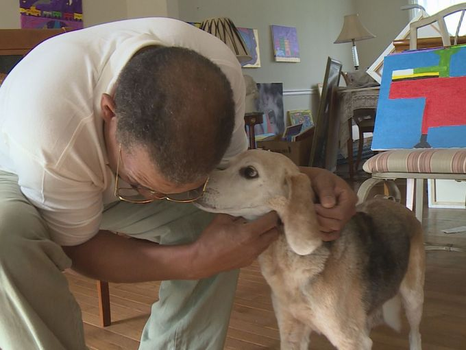 Dog Saves Owner from Heart Attack