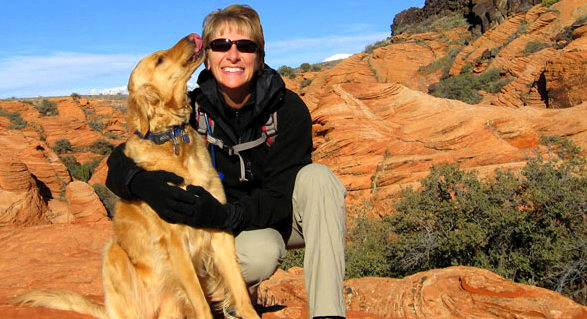 This Amazing Utah Canyon Hike Comes With a Rescue Dog