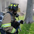 Firefighters Rescue Seven Puppies from House Fire