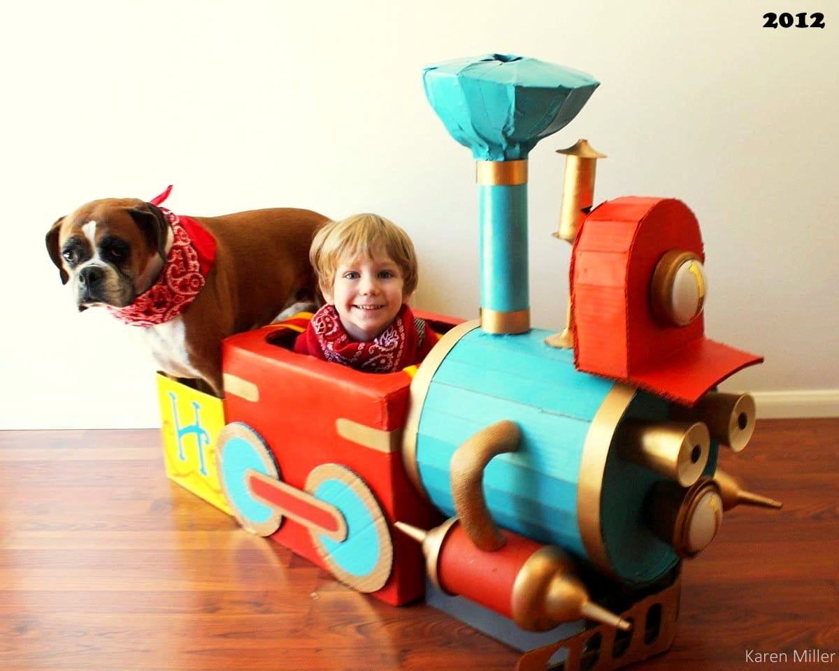 Boy And His Dog Dress To Match Every Halloween Life With
