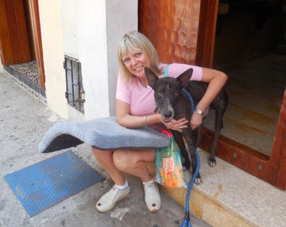 Vanda Hale and Nikko. Photo Credit: Vanda Hale