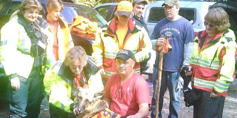 Missing Certified Wilderness Air-Scenting Dog Found Three Days Later