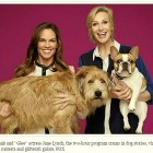 Jane Lynch & Hilary Swank to Host Thanksgiving Dog-a-thon