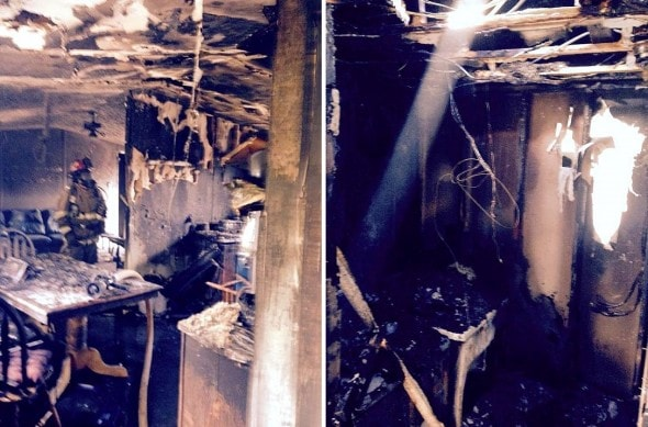 11.7.14 - Dog Badly Burned in Fire Needs Help3