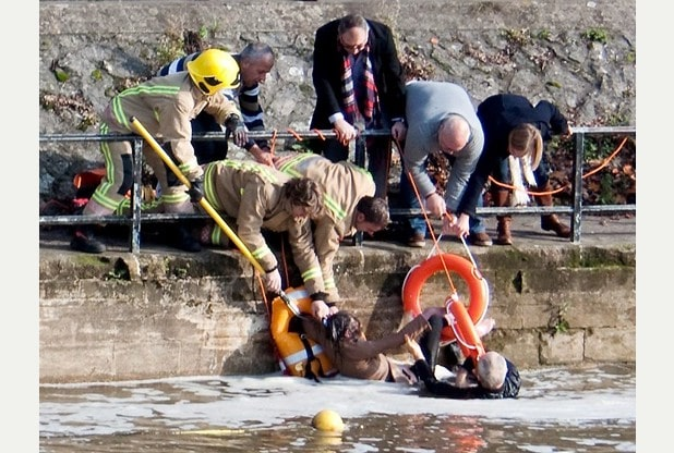 Seventy-Year-Old Woman Risked Life to Save Her Pet