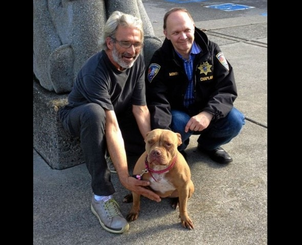 12.16.14 - Dog Lost on Boat Sunk During Storm Reunited with Human